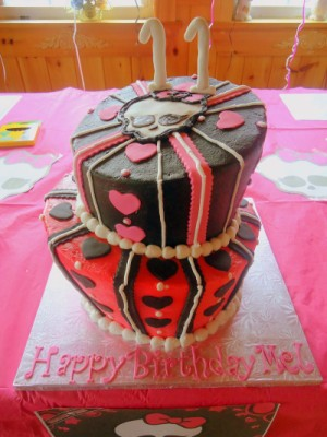 Monster High Cake 2