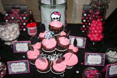 Monster High Cake 6
